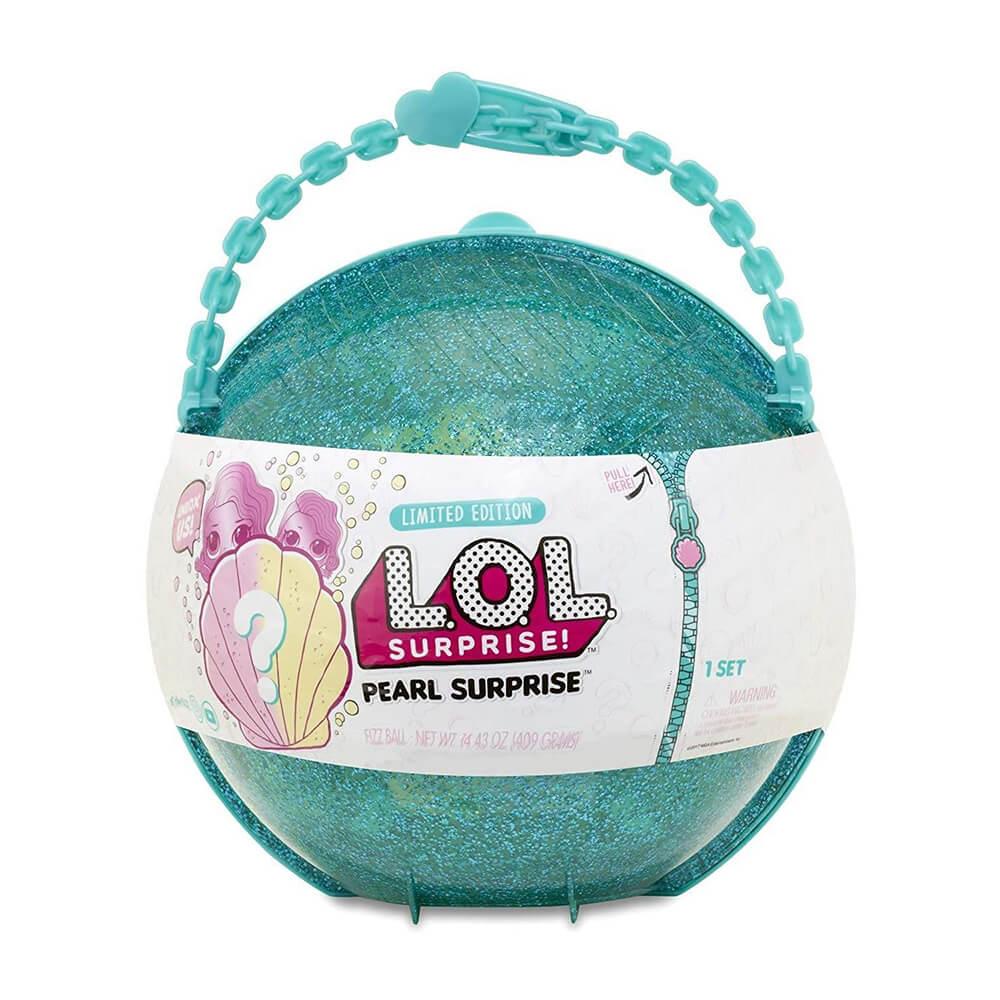 Кукла LOL Surprise Pearl (Лол-сюрприз Жемчужина) (бирюзовый шар)